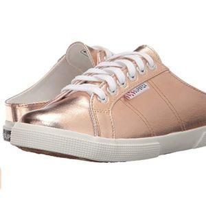 Superga rose gold 2288 Cotmetu Sneaker